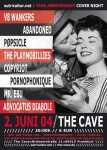 pøpsicle @ The Cave, Frankfurt, 2004