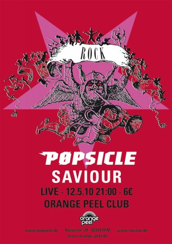pøpsicle live @ orange peel club frankfurt, 12.5.2010