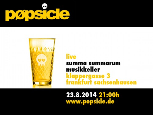 pøpsicle live @ summa summarum 23.8.2014